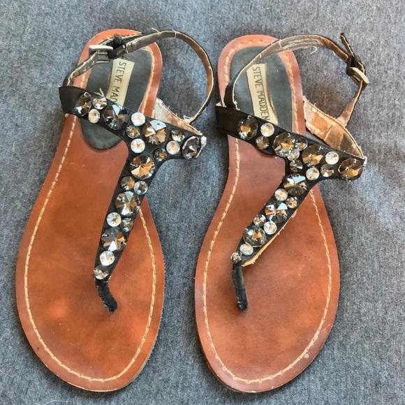 6f0d111f57fe 64% off Steve Madden Shoes Beaded Sandal